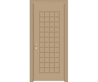 Θωρακισμένη πόρτα ασφαλείας SAM-3876